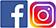 Lien Facebook et Instagram
